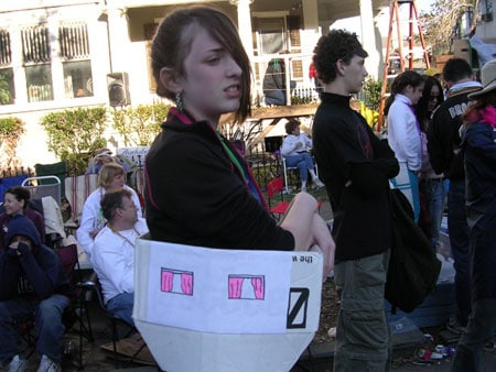 FEMA trailer costume