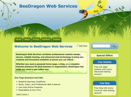 BeeDragon Web Services