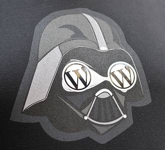 Darth Vader loves WordPress