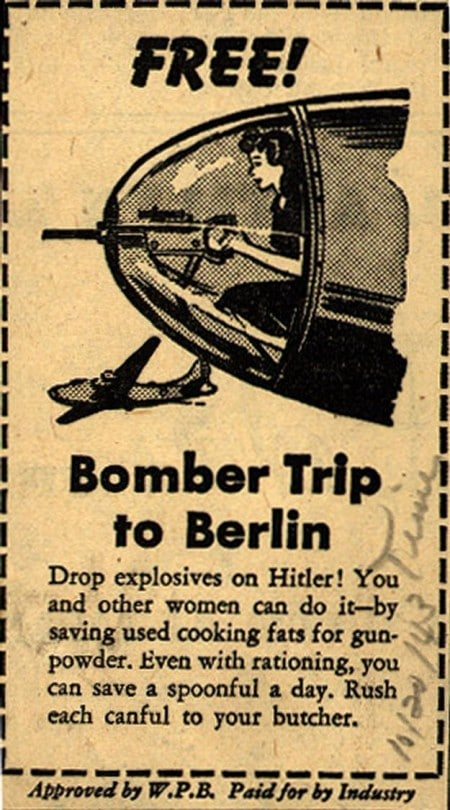 Best Invitation for Women to Drop Bombs on Hitler