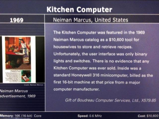 Kitchen Computer Description