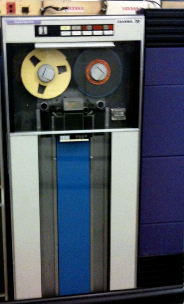 Tape storage - Pre floppy disk