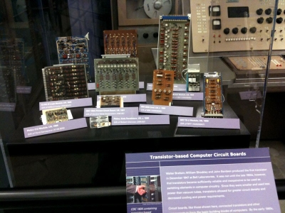 Transistor based computer circuit boards